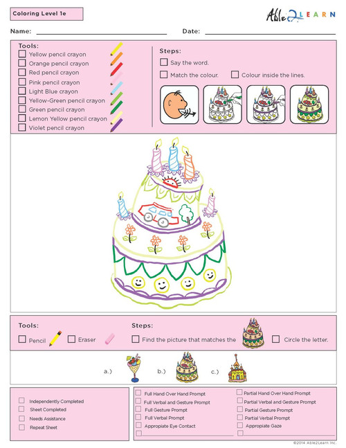 Guided Colouring  Program Level 3 - Pages 10