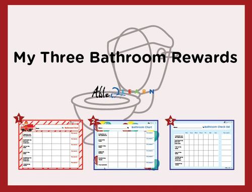 My Bathroom Rewards Chart: Learn Toileting PAGES 10