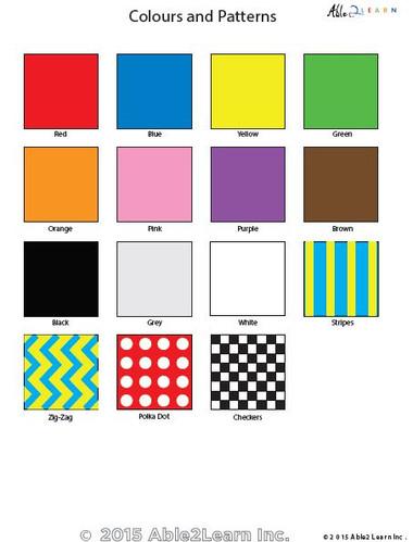 Pecs Colours Able2learn Inc
