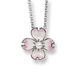 Dogwood Flower Necklace