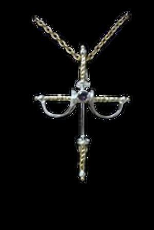 Sterling Silver Swashbuckler Pendant