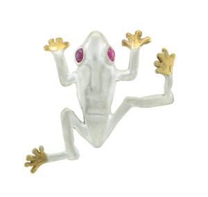 """""""Leonardo"""" Tree Frog Pendant"""
