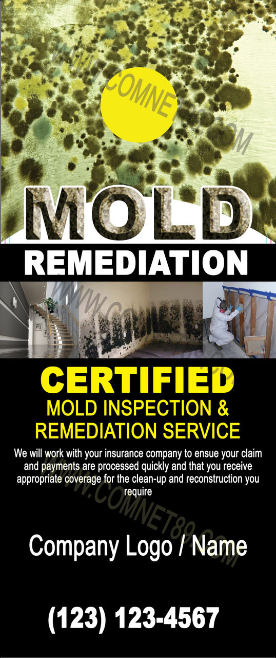 Mold Remediation Door Hanger 03
