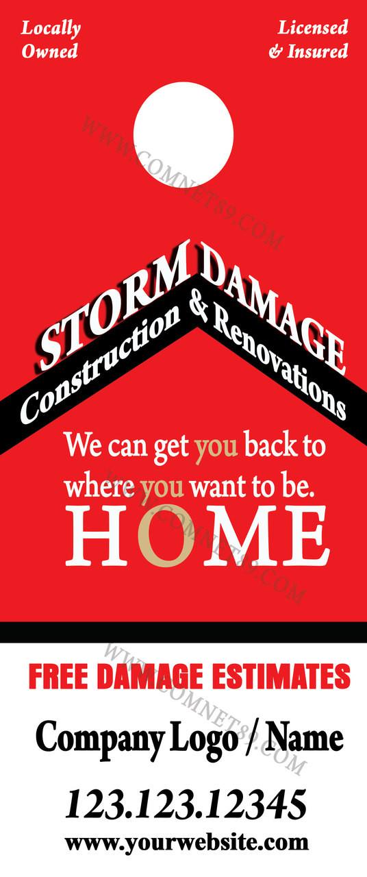 Remodeing & Restoration Door Hanger 05