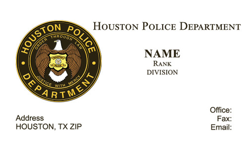 HPD Business Card #13