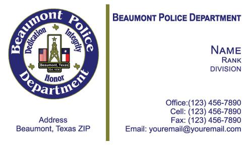 BPD Business Card #1