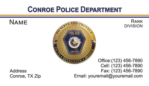 CPD Business Card #1