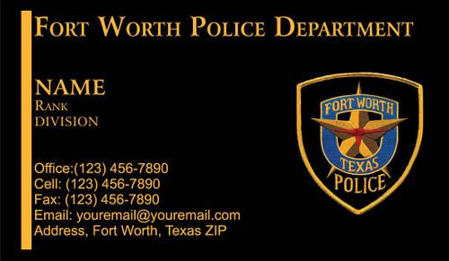 FWPD Business Card #2