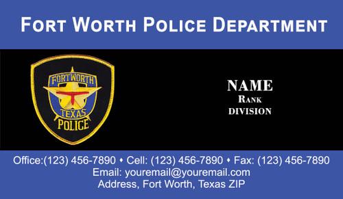 FWPD Business Card #3