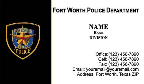 FWPD Business Card #5