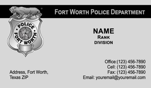 FWPD Business Card #7