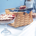 Peterboro Country Slatted Two-Pie With Tray