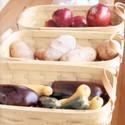 Peterboro Vegetable & Fruit Center Set of Three