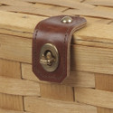 Leather and Brass Clasp