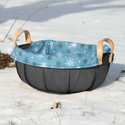 Peterboro Countertop Basket with Liner and Protector
