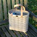 Peterboro Sleek Oval Tote