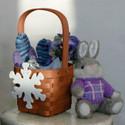 Peterboro Snowflake Peg Basket