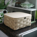 Peterboro Bedside Storage with Hinged Lid