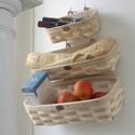 Peterboro Home Decor Wall Storage Basket Set