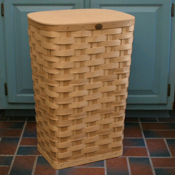Peterboro Tall Waste Basket or Laundry Hamper