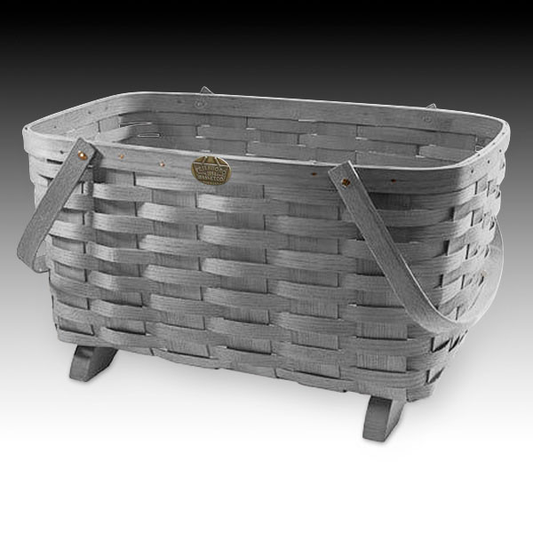 ... Peterboro Traditional Magazine Storage Basket ...