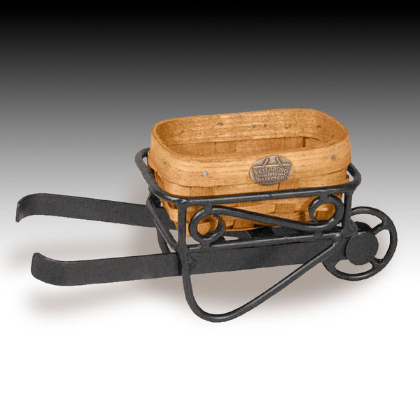 Peterboro Desktop Orchard Wheelbarrow Basket