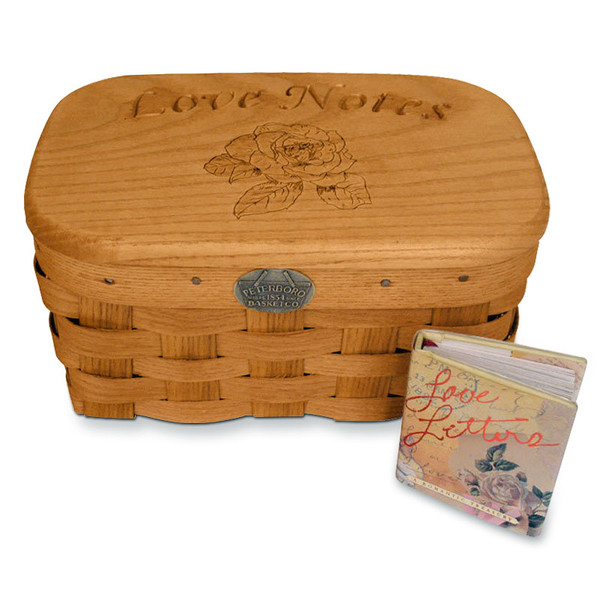 Peterboro Love Notes Basket