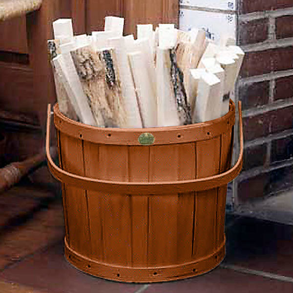 Peterboro Hearthside Storage & Waste Basket