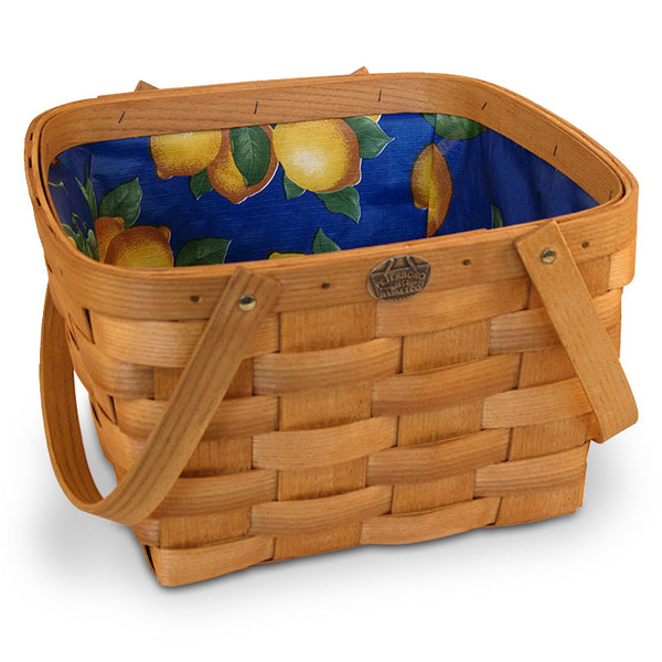 Peterboro Citrus Shopper with Waterproof Liner