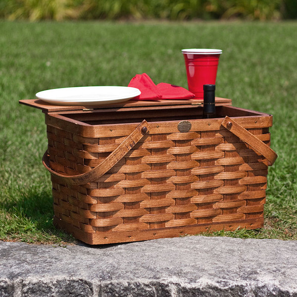 Peterboro Classic Picnic & Storage Furniture Finished Basket