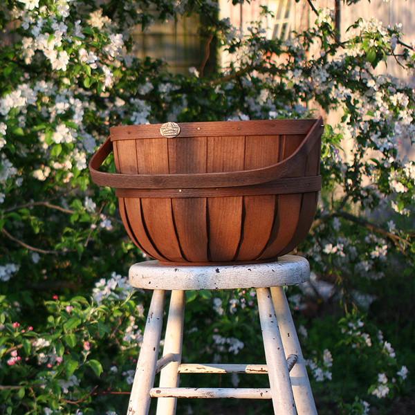 New England Half Bushel Basket at dawn