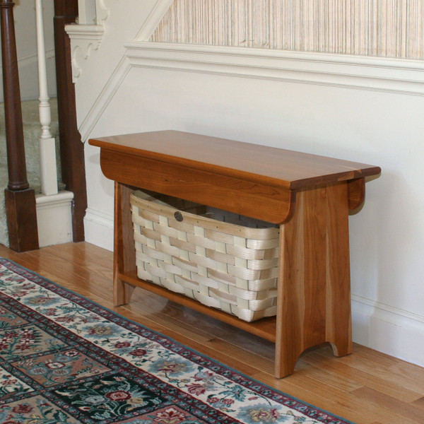 & Peterboro Furniture Quality Storage Bench and Baskets