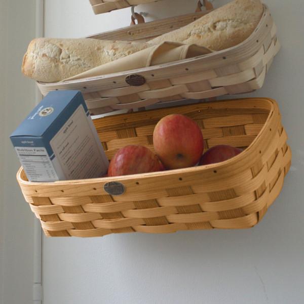 Peterboro Home Decor Large Wall Storage Basket