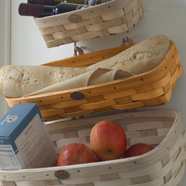 Peterboro Home Decor Medium Wall Storage Basket