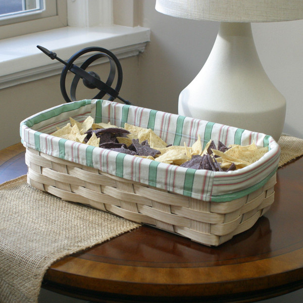 Peterboro Mint Julep Snack-Server Basket