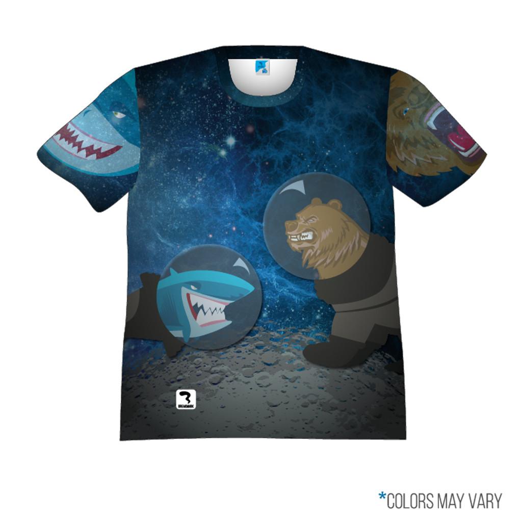Shark Vs Bear Space Front