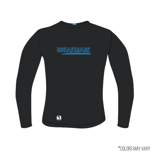 Breakmark Screen Print Long Sleeve Front Dark