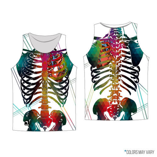 White Skeleton Tank