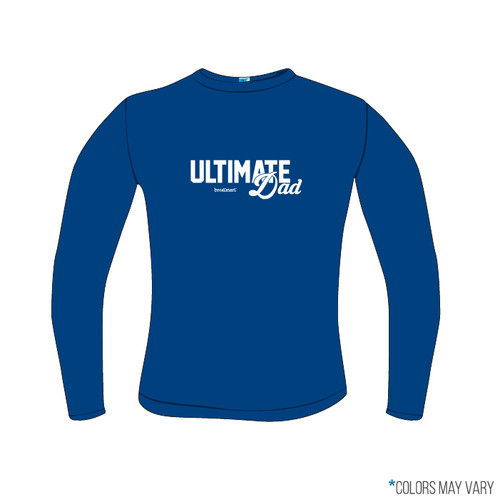 Ultimate Dad Royal Screen Print Long Sleeve