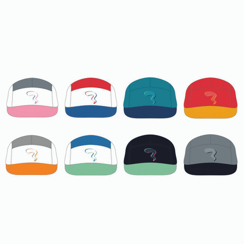 All eight 5 panel lightweight options.