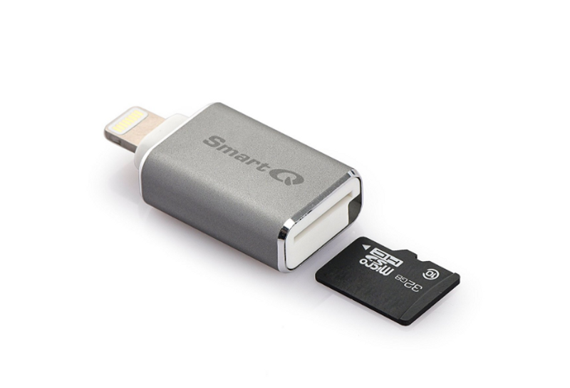 C620 Grey Lightning MicroSD Card Reader