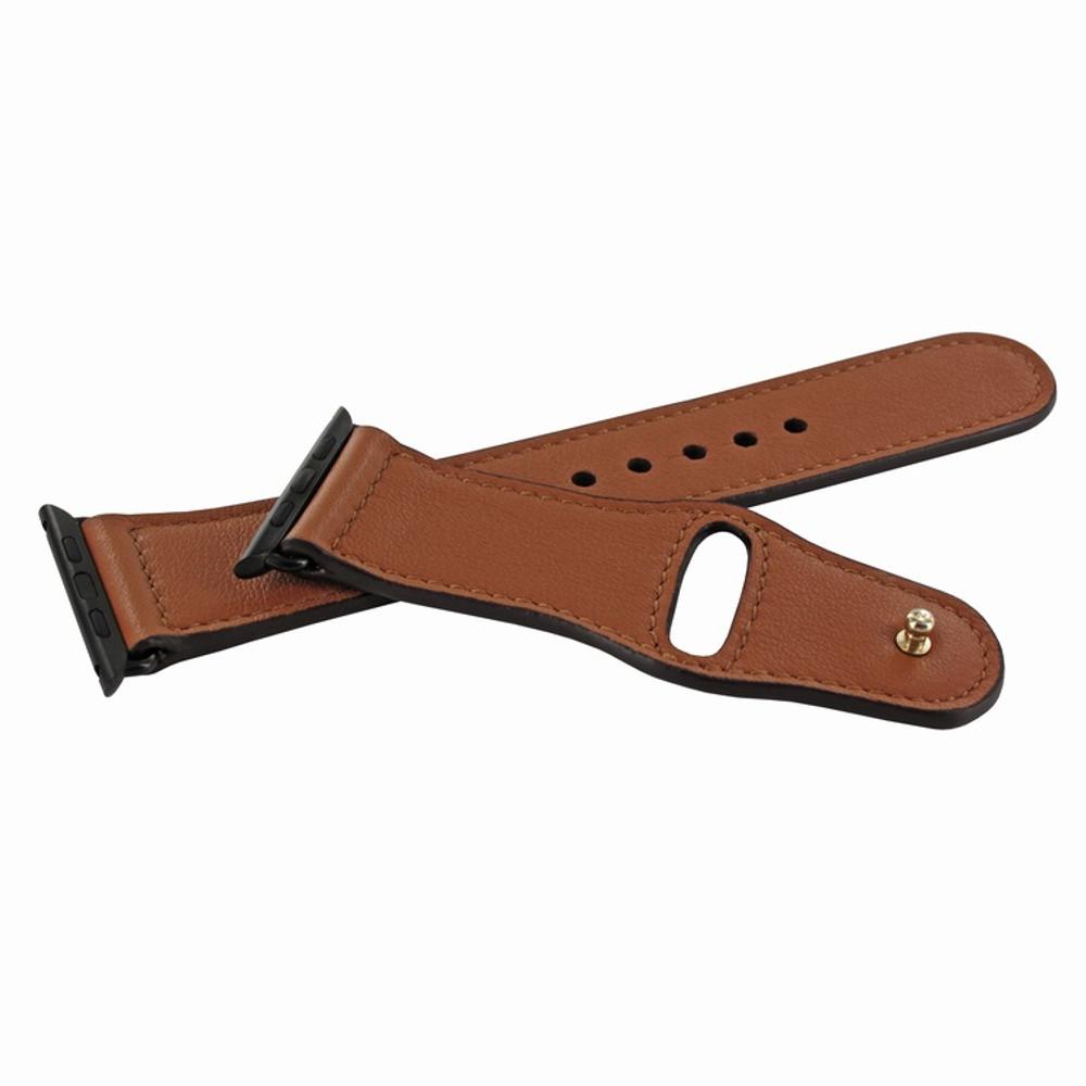 Piel Frama Apple Watch 38 mm Leather Strap - Tan / Black Adapter