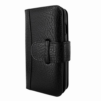 Piel Frama iPhone X WalletMagnum Leather Case - Black iForte