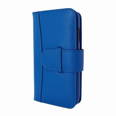Piel Frama iPhone X WalletMagnum Leather Case - Blue