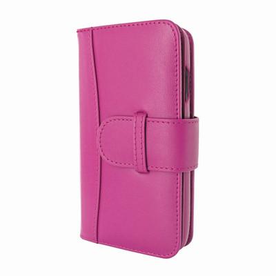 Piel Frama iPhone X WalletMagnum Leather Case - Fuchsia