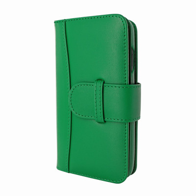 Piel Frama iPhone X WalletMagnum Leather Case - Green