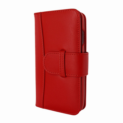 Piel Frama iPhone X WalletMagnum Leather Case - Red