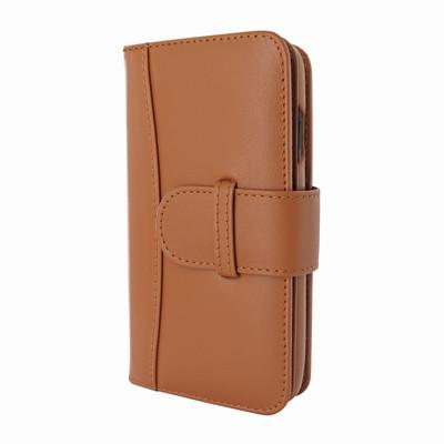 Piel Frama iPhone X WalletMagnum Leather Case - Tan