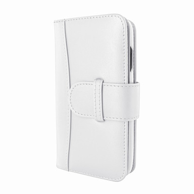 Piel Frama iPhone X WalletMagnum Leather Case - White