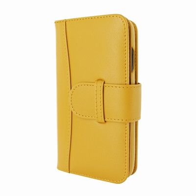 Piel Frama iPhone X WalletMagnum Leather Case - Yellow